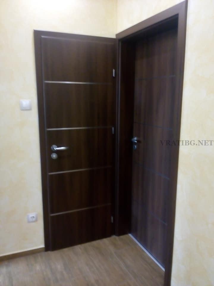 Монтирана врата Discovery Classen в т.нар. кутия-каса в каса
