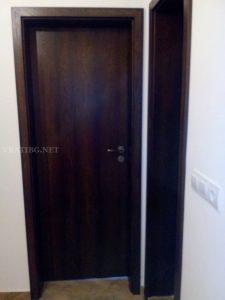 Монтирана врата Century 1 дъб опушен