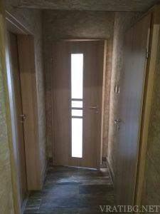 Монтирана врата Деметър 1 и Сентчъри 1 с камуфлажна каса без къртене