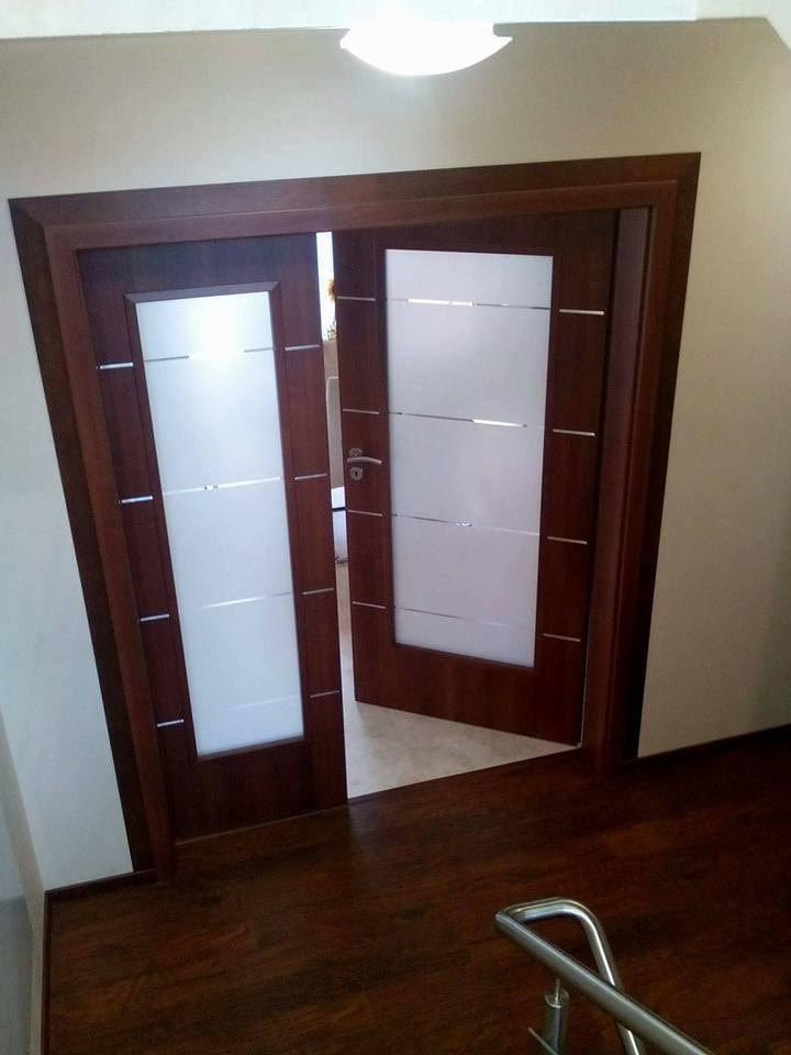 Монтирана портална врата Дискавъри Classen орех
