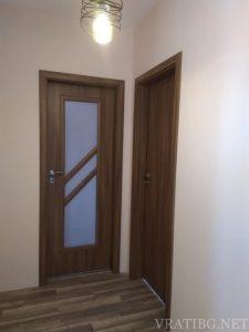 Монтирана врата Сентчъри 1 и Антиопе 3 Classen акация
