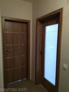 Монтирана врата Дискавъри 1 и 4 Classen ясен кафяв