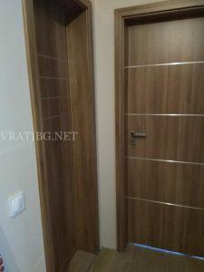 Монтирана врата Дискавъри 4 Classen ясен кафяв