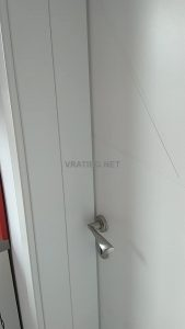 Монтирана врата Линеа 2.12 с каса Смок с уширение