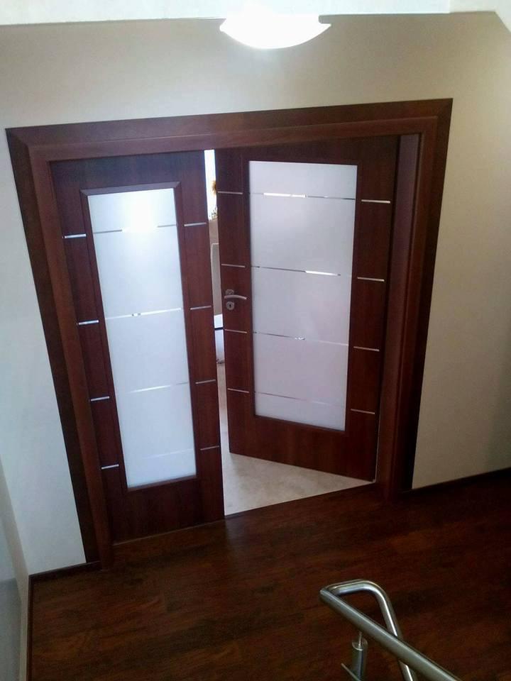 Монтирана двойна портална врата Discovery Classen