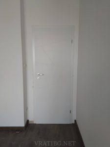 Монтирана врата Линеа 2.12 Classen бял лак