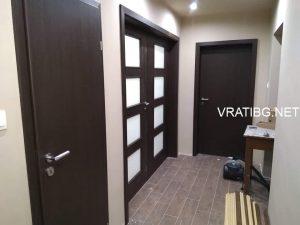 Монтирана портална врата Малага Classen венге