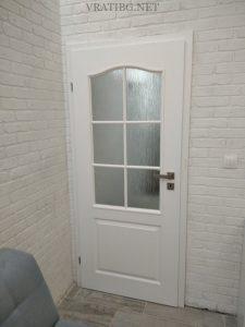 Монирана врата Класик 2/3 стъкло Класен
