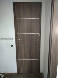 Монтирана врата Дискавъри 4 Classen ясен графит